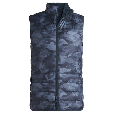 G/FORE MENS CAMO VEST - TWILIGHT - SZ M