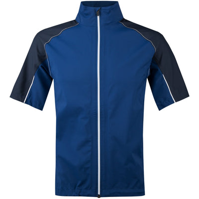 Galvin Green ARCH Paclite Short Sleeve Gore-Tex Jacket - NAVY / WHITE