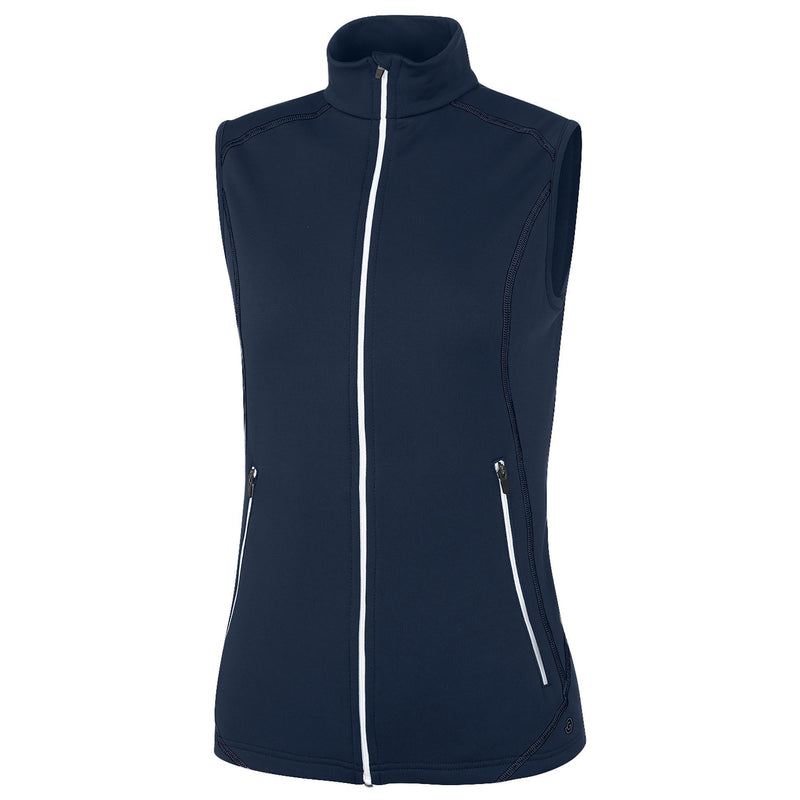 Galvin Green Womens DREW Insula Body Warmer Vest - NAVY