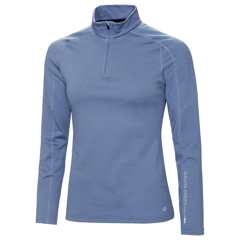 Galvin Green Womens Danielle INSULA™ BODY WARMER HALF ZIP PULLOVER - MoonlightBlue