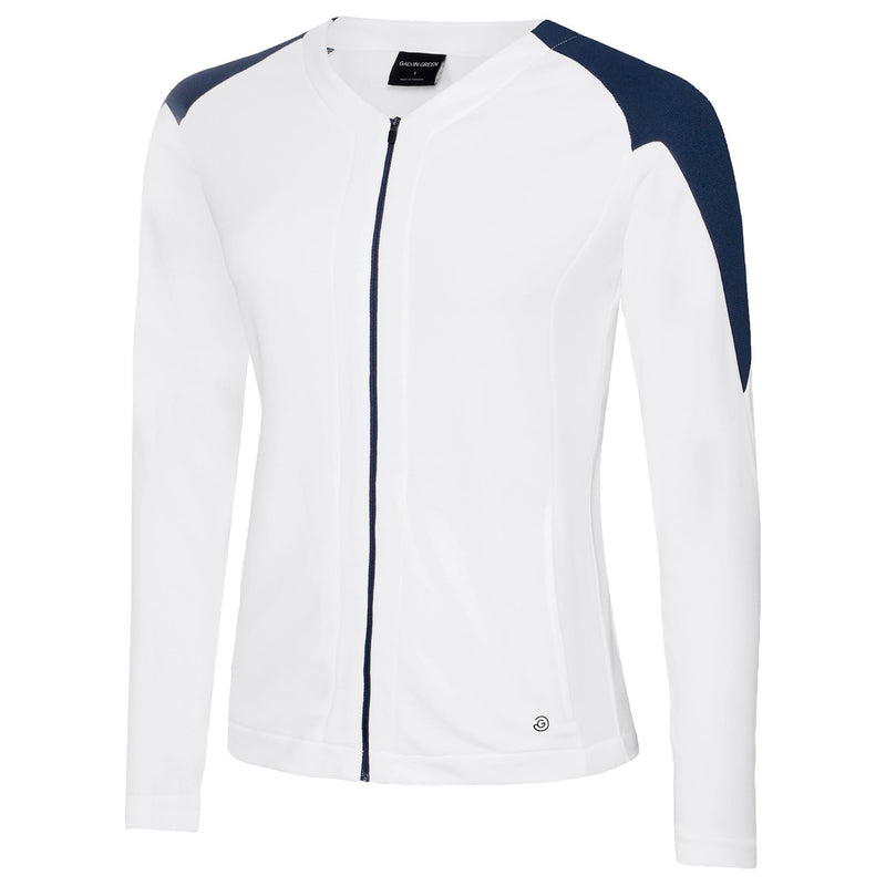 Galvin Green Womens Darlene Insula Jacket - White Navy