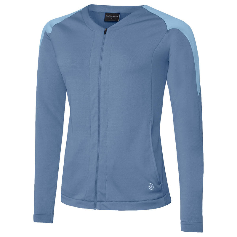Galvin Green Womens Darlene Insula Jacket - Moonlight Powder Blue