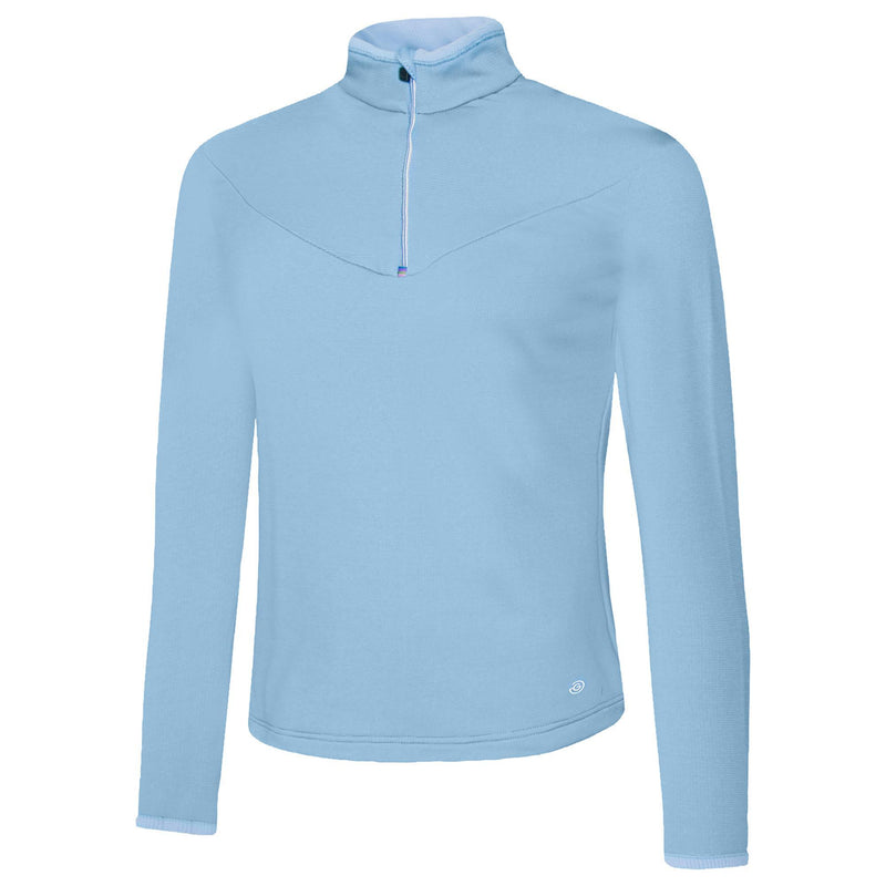 Galvin Green Womens Destiny INSULA™ BODY WARMER HALF ZIP PULLOVER - Powder Blue