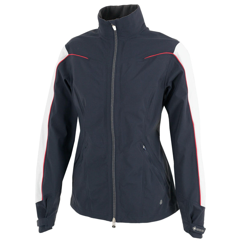 Galvin Green Womens AINO GORE-TEX Waterproof Jacket - NAVY/WHITE/SILVER