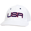 USA LTD EDITION PRO FITTED HATS 2.0 - WHITE/BLUE/RED