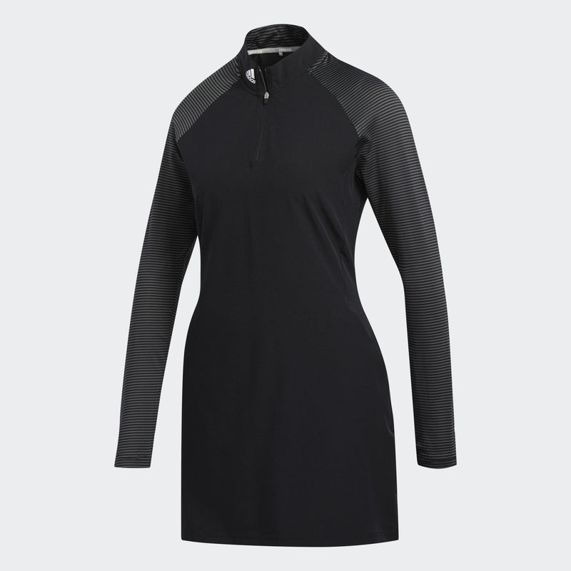Adidas Womens Golf Long Sleeve Dress - BLACK (PRE-ORDER)