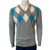 Abacus Men's Prenton Sweater - Grey Melange