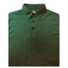 Straight Down Men's Magee Polo -Hunter Green