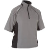 ProQuip Men's Ultralite Half-Sleeve Wind Shirt - Grey