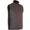Proquip Men's Therma Tour Wind Vest Full Zip Quilted Gilet - Grey