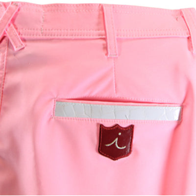 Iliac LDS Luxury Dry Stretch Tour Short - Palmer Pink / White Croc