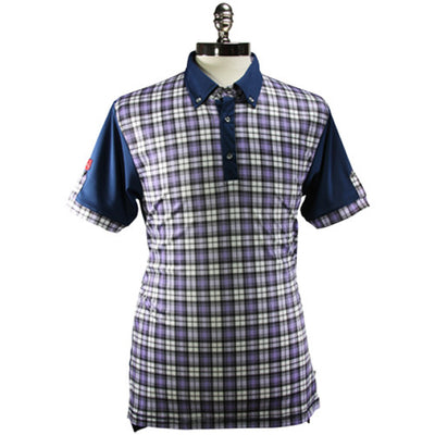 Iliac The Wee Iceman - Navy / Purple Tartan