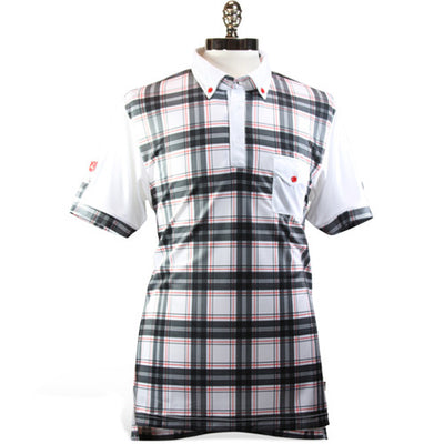 Iliac The National III - Black Tartan / Pure White