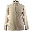 Iliac Thermal Honeycomb 1/4 Zip Jacket - Oatmeal