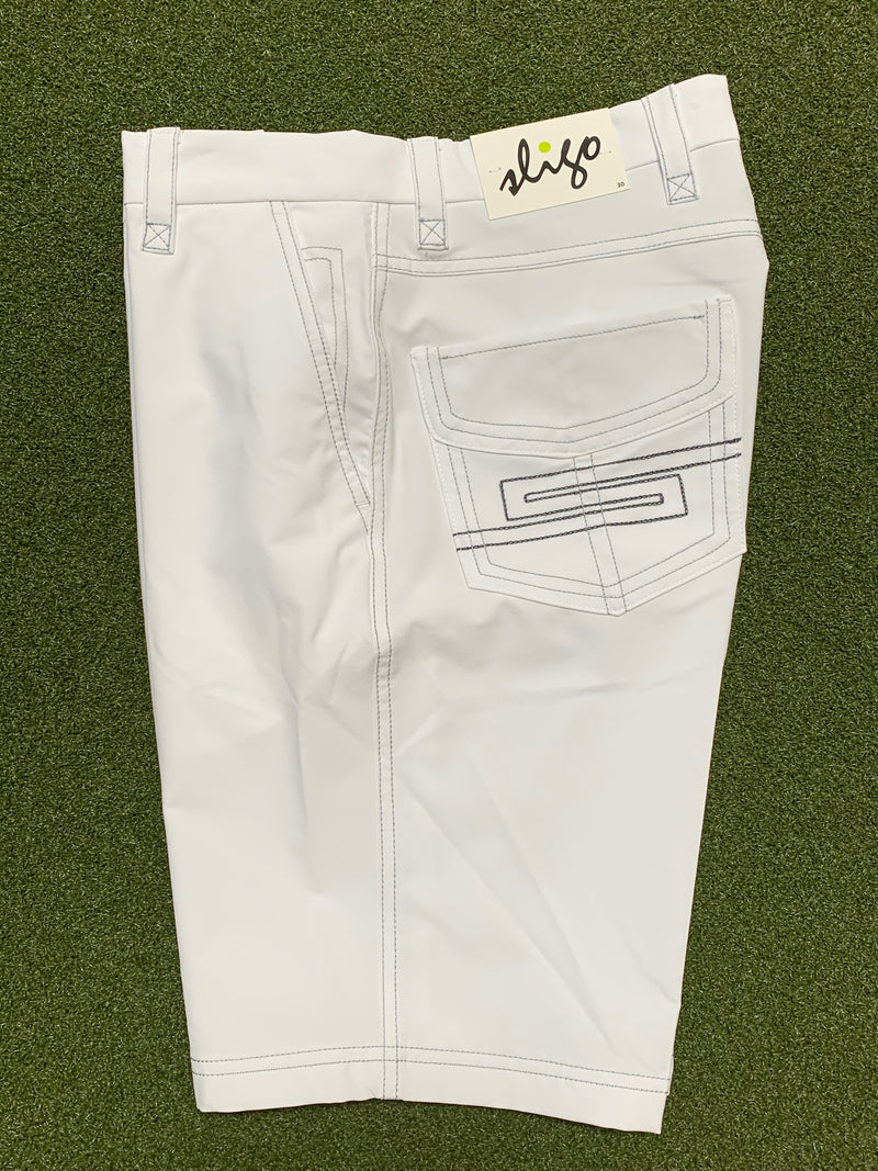 Sligo Preston Shorts - White