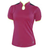 JoFit Barbara Golf Top- Electric Plum