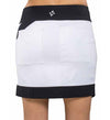 JoFit Vortex Slimmer Skorts - White and Black