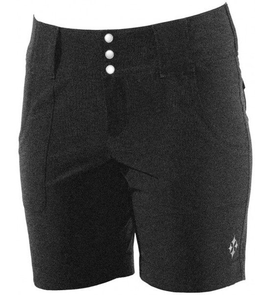 JoFit Belted Golf Shorts - Heather Charcoal