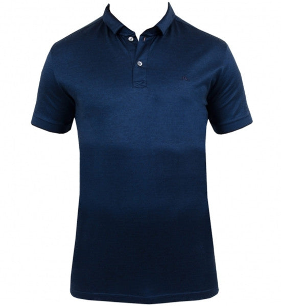 J.Lindeberg Men's Anthony Subtle Jersey - Blue