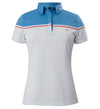 J.Lindeberg Women's Grace Fieldsensor 2.0 Polo - Light Blue