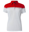 J.Lindeberg Women's Grace Fieldsensor 2.0 Polo - Red Intense