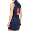 J.Lindeberg Women's Julianne Fieldsensor 2.0 Dress - Navy/Purple