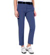 J.Lindeberg Women's Kajsa Micro Stretch Pants - Navy/Purple