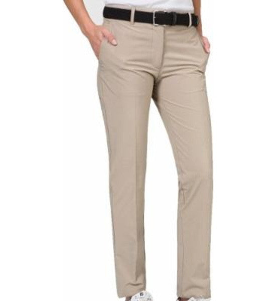 J.Lindeberg Women's Kay Micro Stretch Pants - Beige