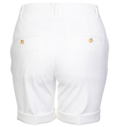 J.Lindeberg Women's Klara Micro Stretch Shorts - White