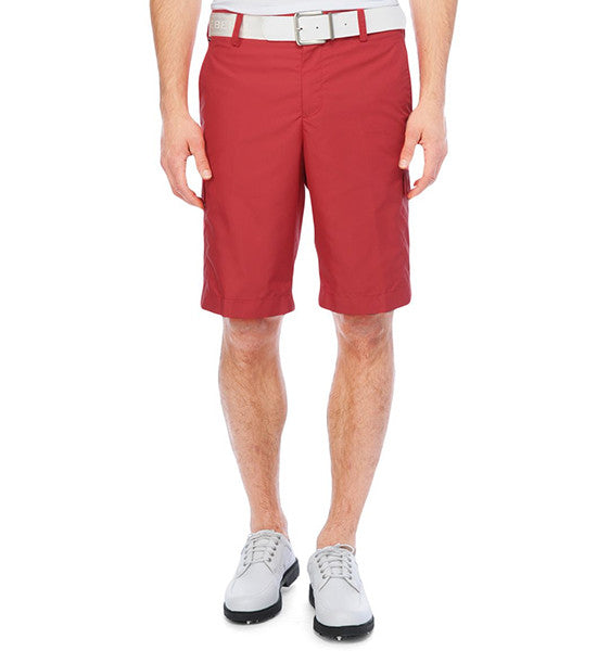 J.Lindeberg Men's True Micro Twill Shorts Regular Fit - Red Intense