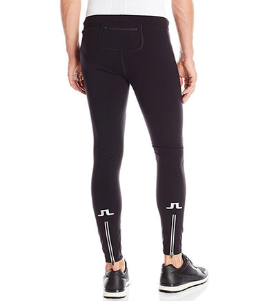 J.L Training Pro-Nylon Running Tights - Black