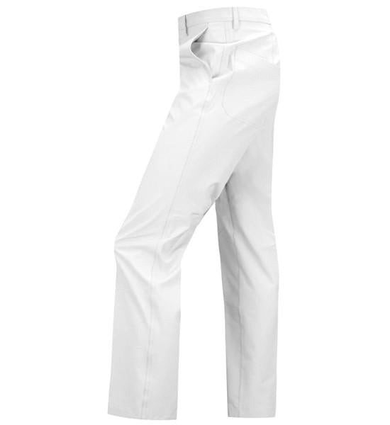 J Lindeberg Men's Troon 2.0 Slim Fit Micro Stretch Pants - WHITE