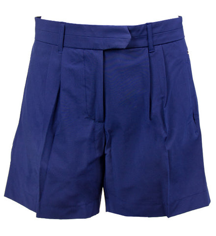 J.Lindeberg Women's Filippa Micro Stretch Shorts - Navy/Purple