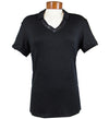 J.Lindeberg Women's Harper Slim Soft Tencel Polo - Black