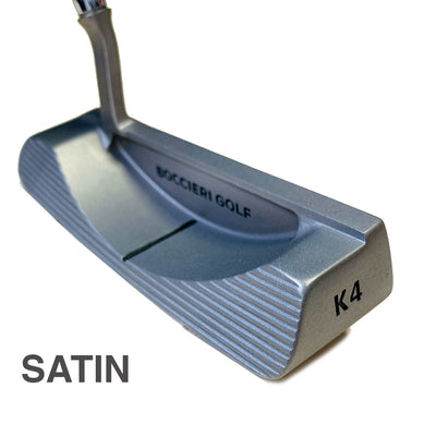 K4-M Mallet Heavy Putter Mid-Weight® - Black, Satin or Gun Metal Finish