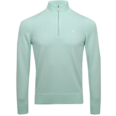 J.LINDEBERG MENS LTD EDITION  KIAN TOUR MERINO SWEATER - MINT