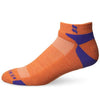 KENTWOOL MENS TOUR PROFILE ANKLE SOCKS - ORANGE/PURPLE
