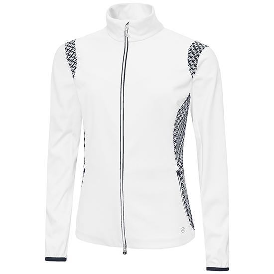 Galvin Green Womens LISETTE  INTERFACE-1™ GORE WINDSTOPPER Jacket - WHITE