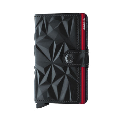 SECRID MINIWALLET - Prism Black-Red - IN STOCK