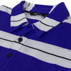 Gilroy Polo Purple/Wht/Blck