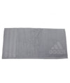 "Grey Adidas Towel 37"" x 20"""