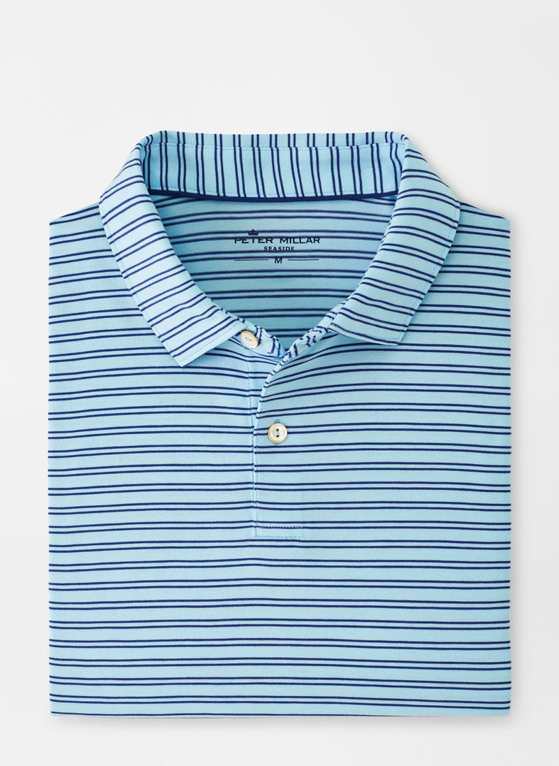 Peter Millar Mens DRIRELEASE NAT TCH STRIPE SN - BAYSIDE BLUE