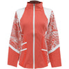 Catwalk Pocket Zippy Jacket - Melon Print