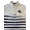 Nike Men's Sport Golf Polo - Slim Fit White Sail Blue