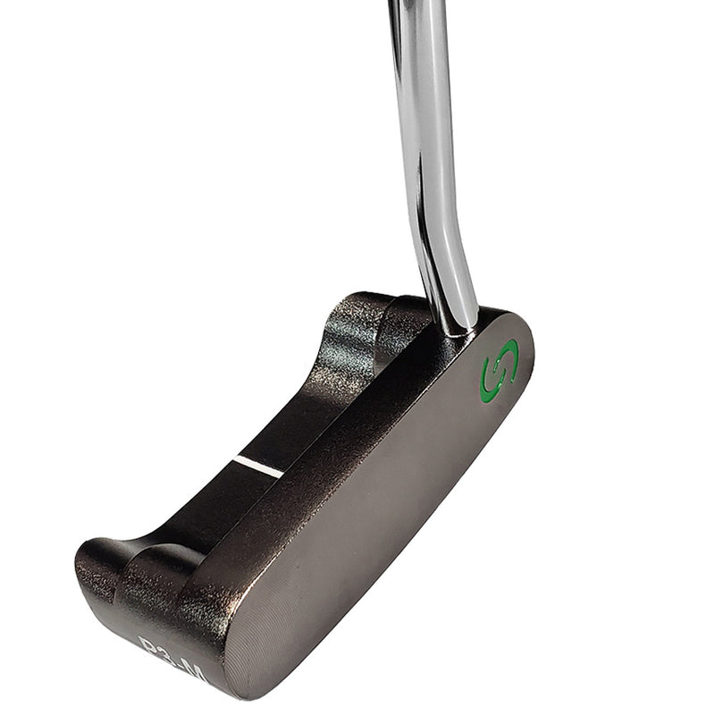 P3 Mallet Heavy Putter Mid-Weight® Gun Metal Finish - RIGHT HAND
