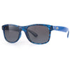 Sundog Peace Polaroid Sunglasses - BLUE DEMI