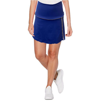 Womens Catwalk Piper Knit Skort - Iris - SKPL13