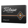 Titleist 2019 Pro V1 Golf Balls - YELLOW