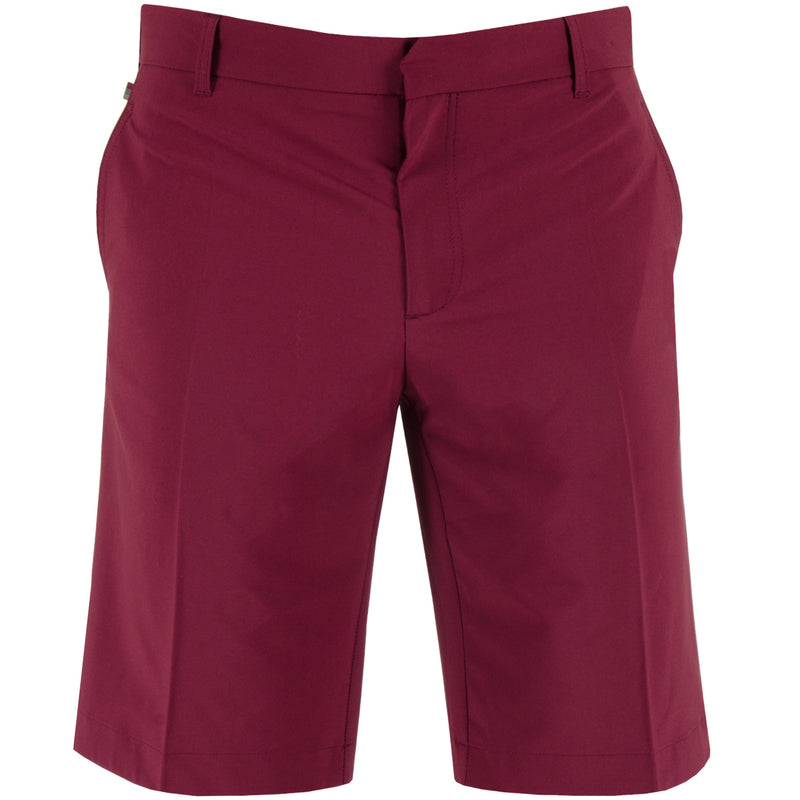 J Lindeberg Men's True 2.0 Micro Stretch Shorts - PLUM