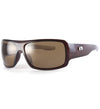 Sundog Mad Polarized Sunglasses - BROWN/SMOKE
